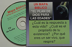 Spanish Bible Map CD